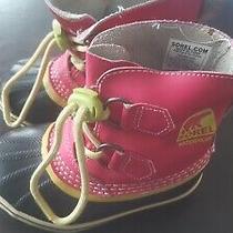 Little Girls Size 9 Sorel Winter Boots Photo