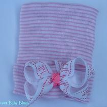 Little Sister Bow Newborn Girl Hat a Perfect Baby Shower Gift Photo