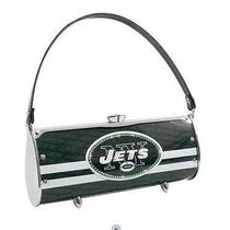 Littlearth New York Jets Nfl Fender Flair Licence Plate Purse Swarovski Crystals Photo