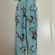 Live Love Dream Aeropostale Fuzzy Floral Leggings Sweatpant Joggers Pajamas New Photo