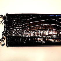 Liz Claiborne Black Checkbook Wallet / Charm Bracelet Photo