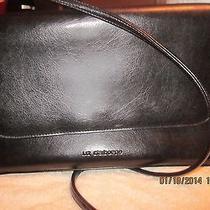 Liz Claiborne Black Handbag Water Resistant Photo