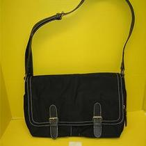 Liz Claiborne Black Laptop Book Bag  New Photo