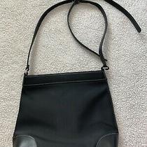 Liz Claiborne Black Leather Purse Photo