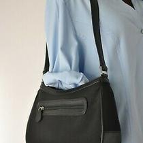 Liz Claiborne Black Shoulder Purse Handbag Photo