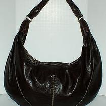 Liz Claiborne Brown Hobo Bag Shoulder Purse Photo