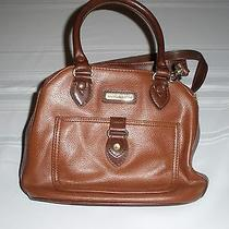 Liz Claiborne Handbag / Evening Bag / Purse / Pocketbook - Brown With Strap Photo