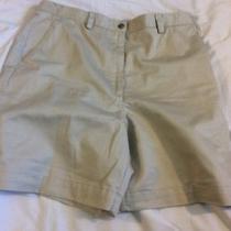 Liz Claiborne Khaki Shorts Size 1 Photo