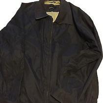 Liz Claiborne Microfiber Jacket - Mens - Navy - 2xl Photo