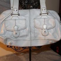 Liz Claiborne Off White Purse Handbag  Photo