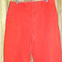 Liz Claiborne Size 31 Red Dress Shorts Long    126-2857 Photo