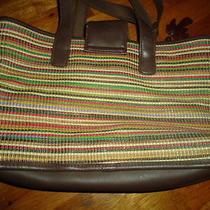 Liz Claiborne Summer Tweed Handbag  Photo