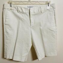 Liz Claiborne White Emma Shorts Size 14 Photo