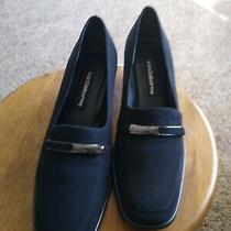 Liz Claibornewomen's 8 M Black Pumps Slip On's Dress Shoes Micro 2