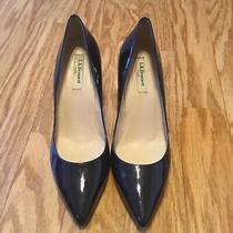 Lk Bennett Blue Heel Size 39.5 Photo