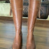 Lk Bennett London Knee High Leather Boots  Brown  Size 7  Great Condition Photo