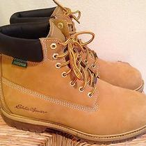 Lknw Eddie Bauer Mens 12 Insulated Waterproof Leather Ankle Boots  Photo