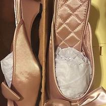 Lmn Luxe Me Now Slippers Tryst Oversized Bow Shoes Blush Women's 9.0 New Photo
