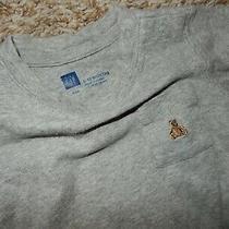 Ln 6-12m Baby Gap Brannan Bear Gray Pocket Long Sleeve Bodysuit Shirt Photo