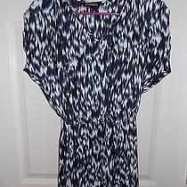 Ln Express Women's Assymetrical Print Dress  Xs Photo