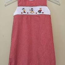 Ln Orient Expressed Smocked Snow White Red Gingham Dress Sz 5 Photo