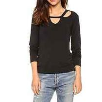 Lna Clover Sweater Shopbop Xs Black Photo