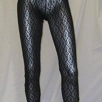 Lna Lace Side Zipper Legging  Photo