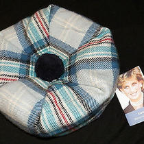 Lochcarron Scotland Princess Diana Memorial Tartan Hat Plaid Tammy Tam Bonnet  Photo