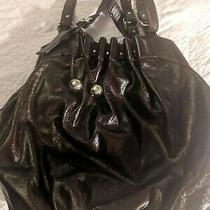 Loeffler Randall Mahogany Xl Patent Leather Hobo Shoulder Tote Purse Photo