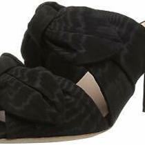 Loeffler Randall Women's Adele Double Knot Mule Black Size 9.0 Wm9j Photo