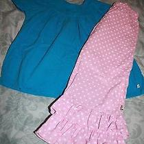 Lolly Wolly Doodle Shirt Pants Outfit Size 7 Euc Photo