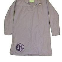 Lolly Wolly Doodle Womens Lavender Polo Shirt Size Large 3/4 Sleeve Photo
