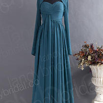 Long Cocktail Party Dress Prom Gown Formal Evening Dress Mother of Bride Dress Photo