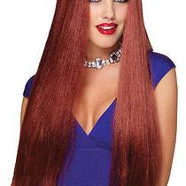 Long Natural Red Wig Photo
