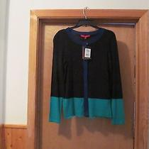 Long Sleeve Full Button Sweater Cardigan Xs Narciso Rodriguez Black and Other Nw Photo