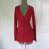Longsleeve Red Anthropologie Top Photo