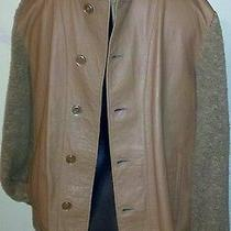 Look Like a Million Bally Luxury Leather Jacket Vintage Size L Mint Condition Photo