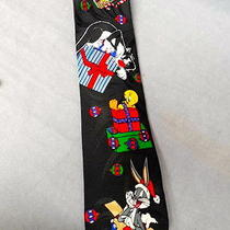 Looney Tunes Mania Holiday Tie Photo