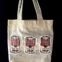 Loop Nyc  Andy Warhol Campbells Soup Shoulder Tote Bag Photo