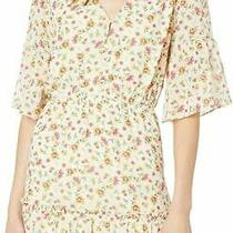 Lost  Wander Womens a-Line Dress Beige Medium M Floral Love in Bloom 102- 993 Photo