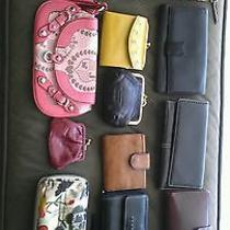 Lot 13 Women's Wallets Fossil Juicy Couture Sakroots and Others Leather  Photo