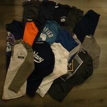 Lot 14 Pieces Boys Size 10 Fall Winter Gap Old Navy Pants Tees Tops Euc 1 Nwt Photo