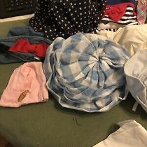 Lot 15 Vintage Infant Hats Caps. Gynboree Gap La Baby  Photo