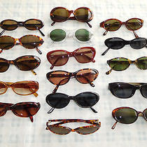 Lot 16 Sunglasses Glasses Eyeglasses Frame Oval Cat Eye Fossil Dkny J Crew Guess Photo
