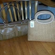 Lot 2 Fossil Handbags 1 New With Tags Other Euc Great Purses Satchels Totes Photo
