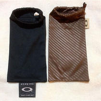Lot 2 Large Oakley Microfiber Bag  Photo