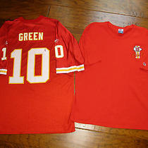 Lot 2 Reebok Kansas City Chiefs Montana Green Football Nfl Jersey T Shirt Xl Xxl Photo