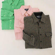 Lot 3 Lacoste Ralph Lauren Polo Ralph Lauren Men's Multi-Color Shirts Sz 44 L Photo