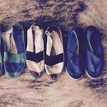 Lot 3 Pairs of Espadrilles Diane Von Furstenberg & Other Size 6 Photo