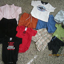 Lot 35 Boys Shirts & Shorts Pants Tops Gymboree Gap Rabbit Skins 18 24 M 2t Euc Photo
